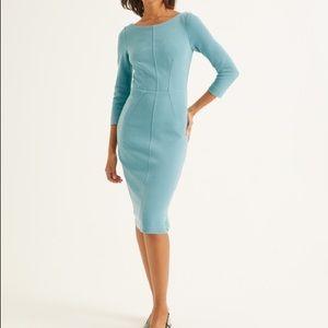 Boden robin's egg blue dress